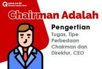 Chairman Adalah