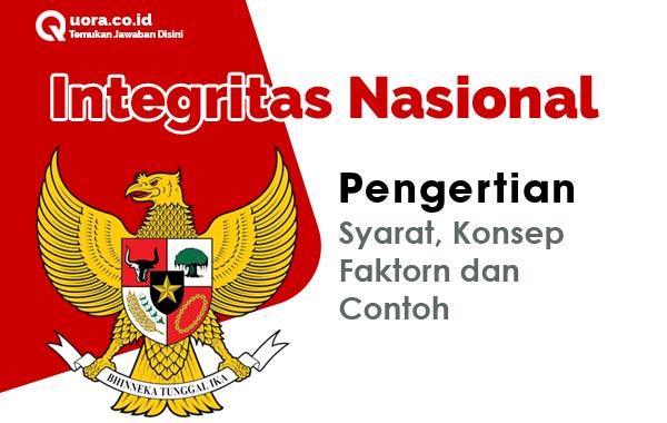 Integritas Nasional