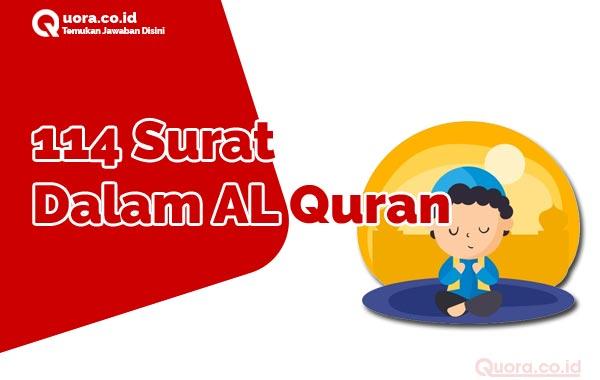 114 Surat Dalam AL Quran