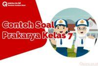 Contoh Soal Prakarya Kelas 7
